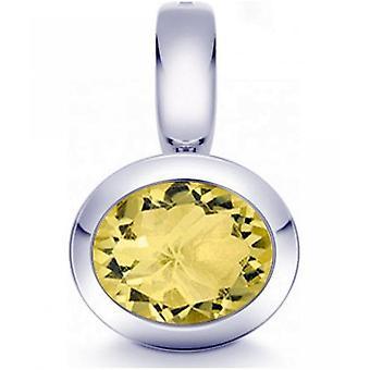 Quinn - Limon kuvars ile Gümüş kolye - 024837948