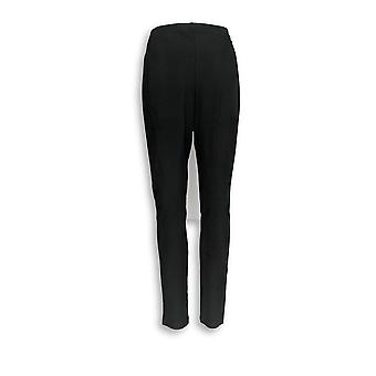 Women with Control Leggings 12 Pull-On Leggings Black A284263