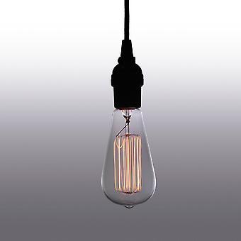 ליילה גובה מתכוונן 1-אור אדיסון מנורה עם הנורה