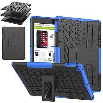 Für Apple iPad 10.2 Zoll 2019 7. Generation Hybrid Outdoor Schutzhülle Case Blau Tasche Cover Etuis