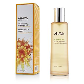 Ahava Deadsea Plants Dry Oil Body Mist - Mandarin & Cedarwood - 100ml/3.4oz