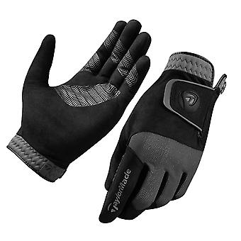 Taylormade Mens Rain Control Grip Strong Ultra-Thin Golf Gloves - Paire