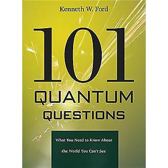 101 Quantum Questions  What You Need to Know About the World You Cant See by Kenneth W Ford & Illustrated by Paul Hewitt