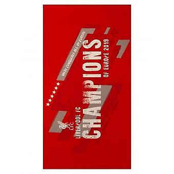 Handdukar från Liverpool FC Champions of Europe