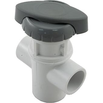 "Balboa 11-4030GRY Hydro flow 0.75"" 3-Way Valve Assembly Gray"
