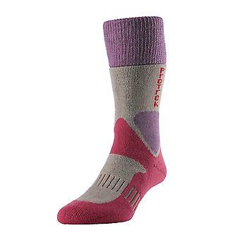 HJ Hall ProTrek Challenger Wool Hiking Boot Socks HJ833 Size SML 3-5.5 Oatmeal