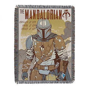 Tähtien sota: Mandalorian standoff kudottu kudos huopa peitto