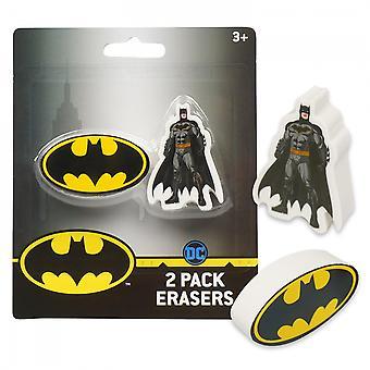 Batman 2-Pack Erasers