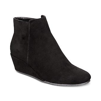 Kenneth Cole Reaction Womens tip plain Fabric Almond Toe Ankle Fashion Boots