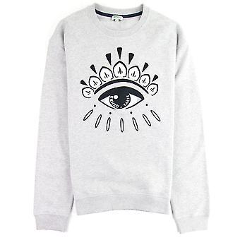 Kenzo Eye Sweatshirt Grau