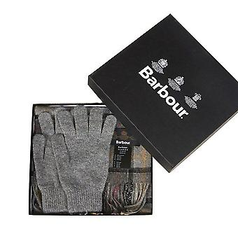 Barbour Lifestyle Scarf & Gloves Gift Box