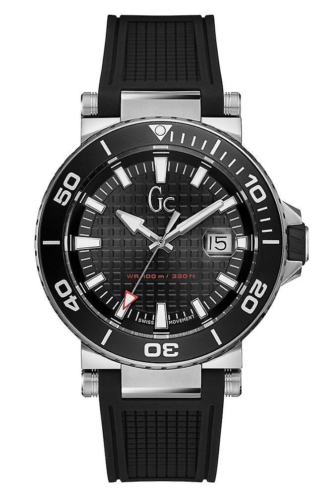 Gc Guess Collection Y36002g2 Diver Code Heren Horloge 44 Mm