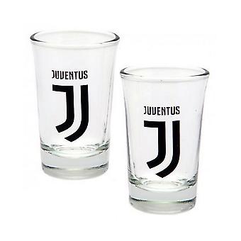 Juventus FC Shot Glass (Pack Of 2)