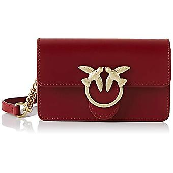 Pinko Baby Love Simply Red Woman shoulder bag (Dark Red) 5x10.5x16.5 cm (W x H x L)