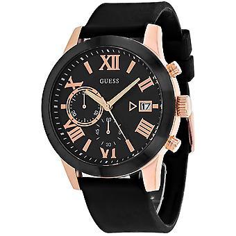 Guess Men's Atlas Black Watch - W1055G3