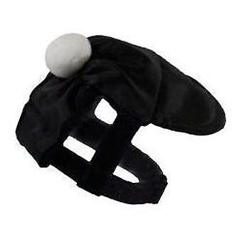 Grande Finale Cap black/white size 5/30-40cm (Dogs , Dog Clothes , Fashion Accessories)