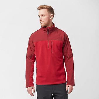 New Peter Storm Men's Ascent Half Zip Fleece Red