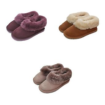 Eastern Counties Leather Womens/Ladies Sheepskin Lined Slipper Boots