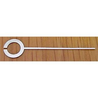 Clock hands quartz carriage clock alarm indicator hand, silver 30mm