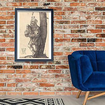 Albrecht Durer - gaitero cartel impresión Giclee