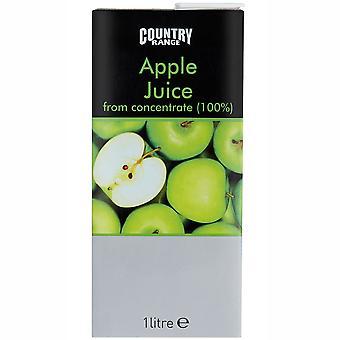 Country Range Apple Fruit Juice Cartons