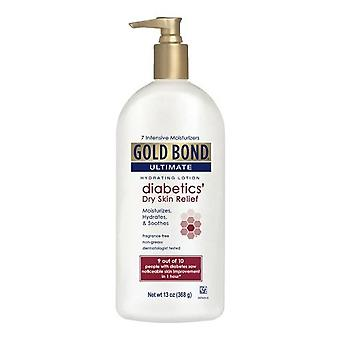 Gold bond ultimate diabetics' dry skin relief hydraing lotion, 13 oz