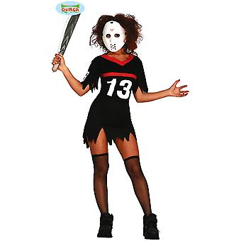Kostium na halloween kostiumy kobiety Jason