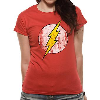 The Flash-Distressed Logo T-Shirt, women