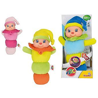 Simba ABC Calm N Care Glow Bug Glow Fly Soft Toy Asst