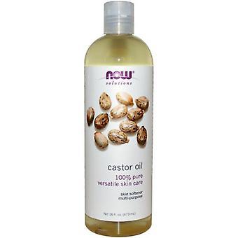 Now Foods Castor Oil Liquid 473 ml