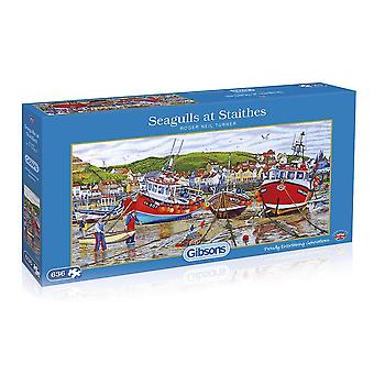 Seagulls at Staithes 636pc Jigsaw by Gibsons