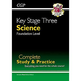 New KS3 Science Complete Study & Practice - Foundation (with Onli