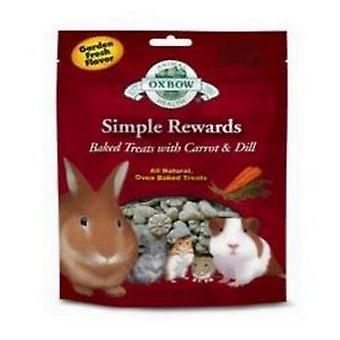 Oxbow Simple Rewards Carrot And Dill Flavoured Baked Treats