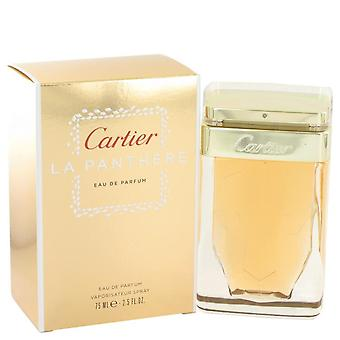 Cartier La Panthere Eau De Parfum Spray By Cartier 2.5 oz Eau De Parfum Spray