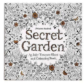 Secret Garden: Dark color treasure hunt and coloring book coloring book animation
