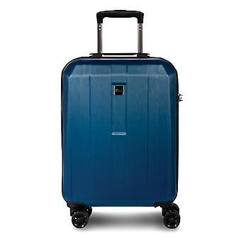 Fabrizio Gateway Hand Luggage Trolley S, 4 Roues, 55 cm, 40 L, Bleu