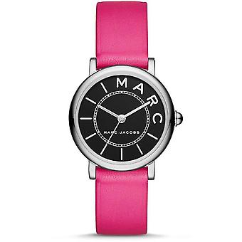 Marc Jacobs MJ1540 Analog Leather Calfskin Strap Ladies Watch