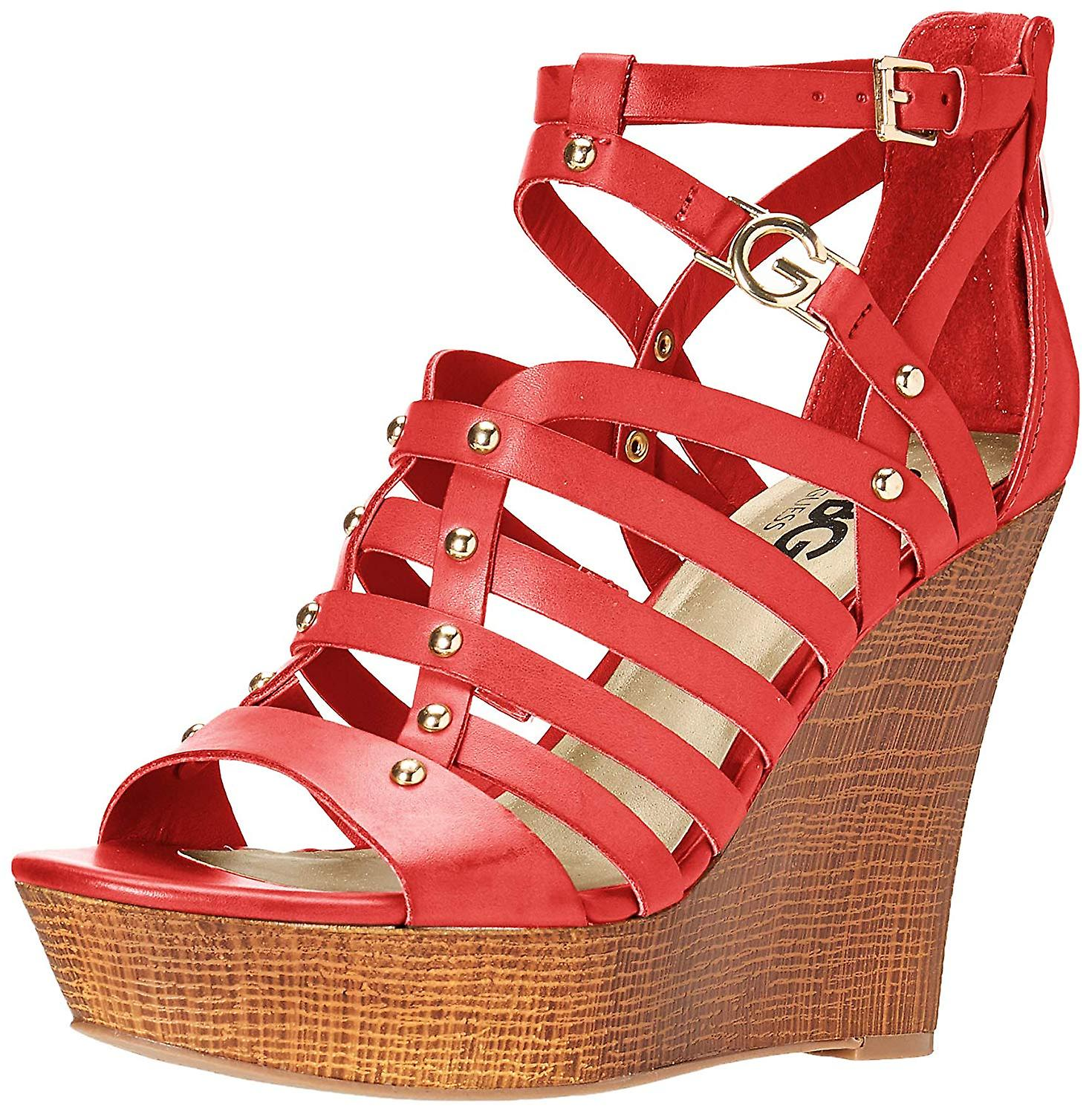G by Guess Womens dezzie Fabric Open Toe Formal Strappy Sandals fSqkO