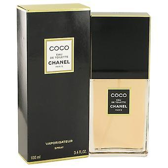 Coco Eau De Toilette Spray By Chanel 3.4 oz Eau De Toilette Spray