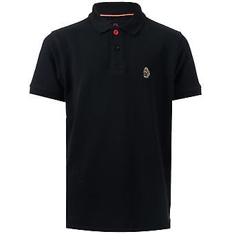 Boy's Luke 1977 Infant Williams Polo Shirt in Black