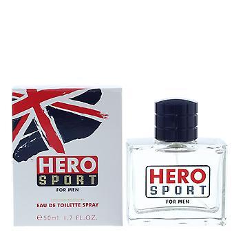 Mayfair Hero Sport For Men Eau de Toilette 50ml Spray Him