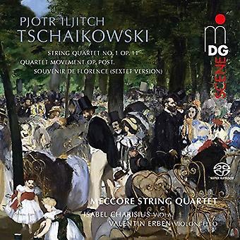 Tchaikovsky / Meccore String Quartet / Charisius - Souvenir De Florence [SACD] USA import