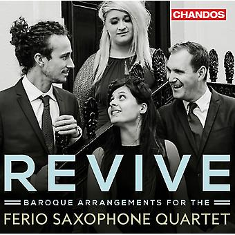 Bach*J.S. / Ferio Saxophone Quartet - Revive [CD] USA import