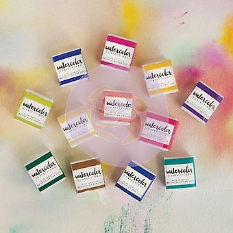 Art Philosophy Watercolor Confections Tropicals