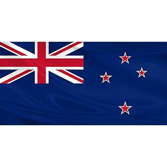 Pack of 3 New Zealand Flag 3ft x 5ft Kiwi Polyester Fabric Rugby Country