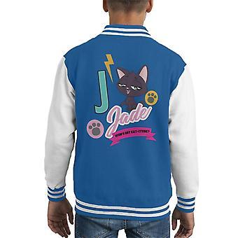 Littlest Pet Shop Jade Catitude Kid's Varsity Jacket
