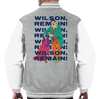 Friday Night Dinner Wilson Remain Men's Varsity Jacket