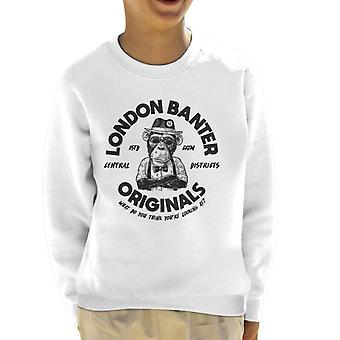 London Banter Originals Daper Ape Kid's Sweatshirt