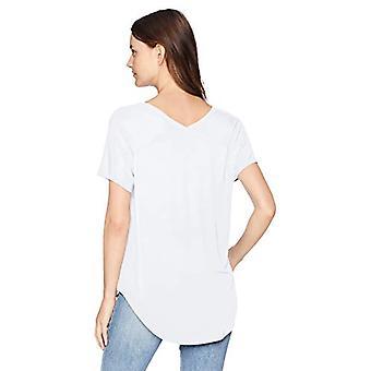 Brand - Daily Ritual Women&s Jersey Koszulka z dekoltem w serek, biały, X-Large