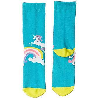 Marca - Calcetines de cebra manchados para niños y apos; calcetines de 12 paquetes, unicornio, medio (1-3)